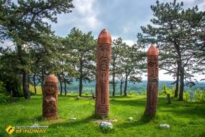 Ancient temple, Poltava