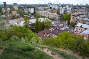 Mount Schekavitsa, Observation point, Kyiv