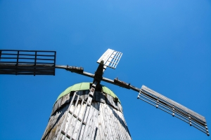 Wind mill of Taras Shevchenko times, Budyshe