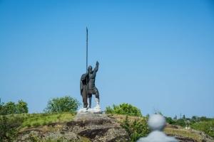 Памятник Росич, остров Зеленый, Корсунь-Шевченковский