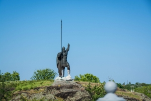 Monument to Rosich, Green Island, Korsun-Shevchenkivsky