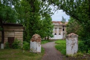 Abandoned Shidlovskiy' palace and park complex, Stariy Merchyk