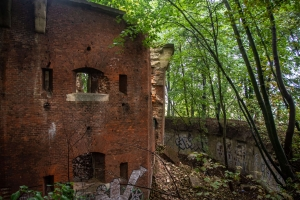 "Abandoned Maksymilianska tower №3, fortification complex ""Citadel"", Lviv"