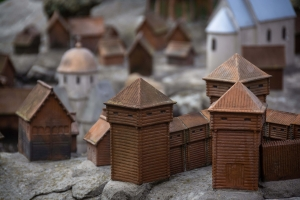 Model of ancient Halych (Galich in miniature)