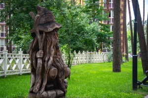 "Park of wooden sculptures ""Pokrovsky"", Irpin"