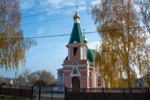 Exaltation of the Cross church, Novoselivka