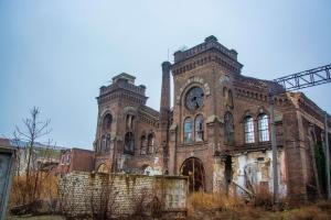 Краян, покинуті вагоноремонтні майстерні Унгернштернберга, Одеса