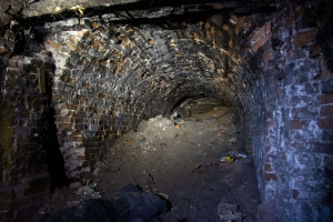 Entrance to Chuguiv Catacombs