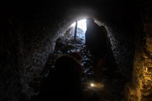 Вход в Чугуевские катакомбы