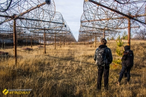 Антени радіотелескопу «УРАН-1», Зміїв