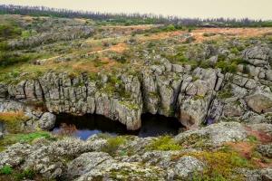 Актовский каньон, Вознесенск