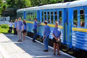 Children's railway of Zaporizhya