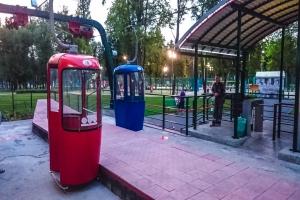 Харьковская канатная дорога (Ботанический сад - парк Горького)