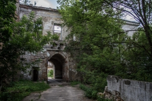 Klevan castle (Abandoned manor of Chartoriyskih)