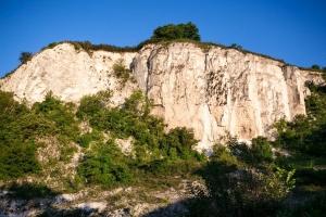 Крейдяна скеля, с.Протопопівка, Балаклія
