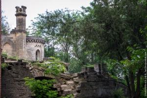 Moorish palace near Odessa (Kuris Castle), s.Petrovka