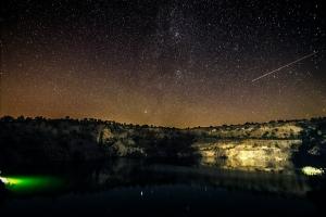 Мигийское радоновое озеро (заброшенный гранитный карьер, радиоактивное озеро), Мигия