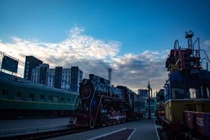 Музей железнодорожного транспорта (Выставка исторических локомотивов и вагонов), Киев-Пассажирский