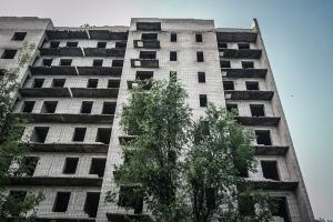 Unfinished apartments,, Kupyansk area, Kivsharivka