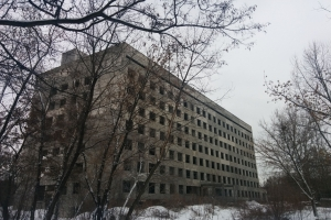 Unfinished Hospital, Moscow Avenue, Kharkiv