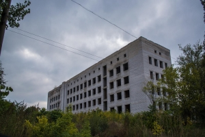 Unfinished building of Hospital (Vasilivka)