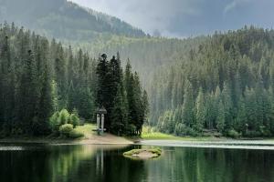 Озеро Синевир, Закарпаття