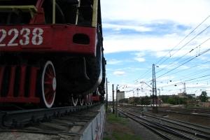 пам'ятник паровозу фд 20 на південному вокзалі, ст. харків-пасажирський Цікаві місця України харків