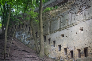 "Abandoned ""Lower Wall"" of Mykolaiv Novopecherskie defense fortress, Kyiv"