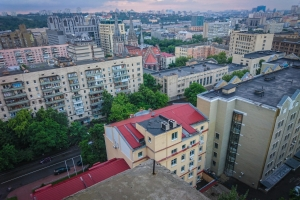 Abandoned hospital restructuring, Kyiv