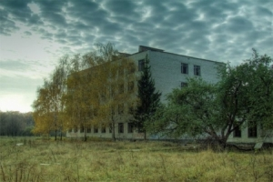 Abandoned rocket base (school) at Zhukovsky (Zhuki)