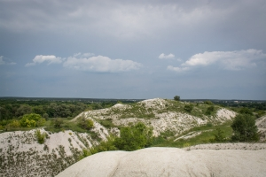 Покинутий крейдяний кар'єр, Куп'янськ