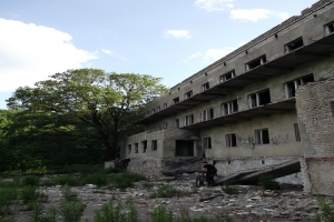 Abandoned pension for mentally retarded, Kharkov