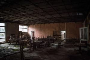 Заброшенный санаторий «Рай-Еленовка»