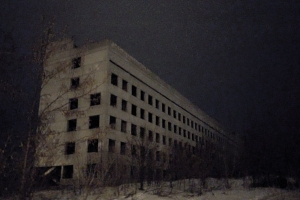 Maternity House in Oleksiivka, abandoned Hospital