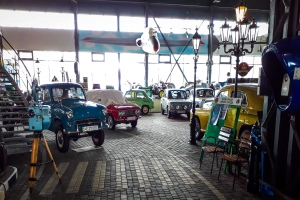 "Technical Museum of retro cars ""Time Machines"", Dnipro"
