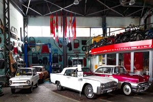 Technical Museum of retro cars «Time Machines», Dnipro