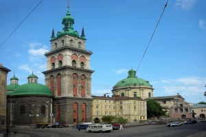 Dormition (Uspenska) church in Lviv