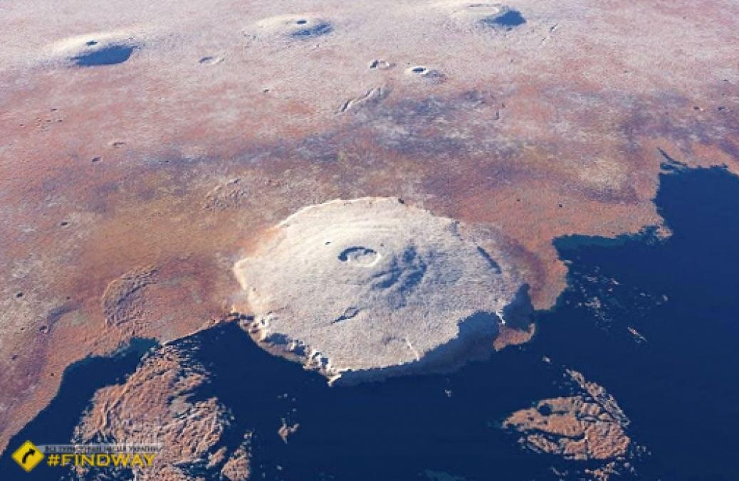 Вулкан Олімп, Марс