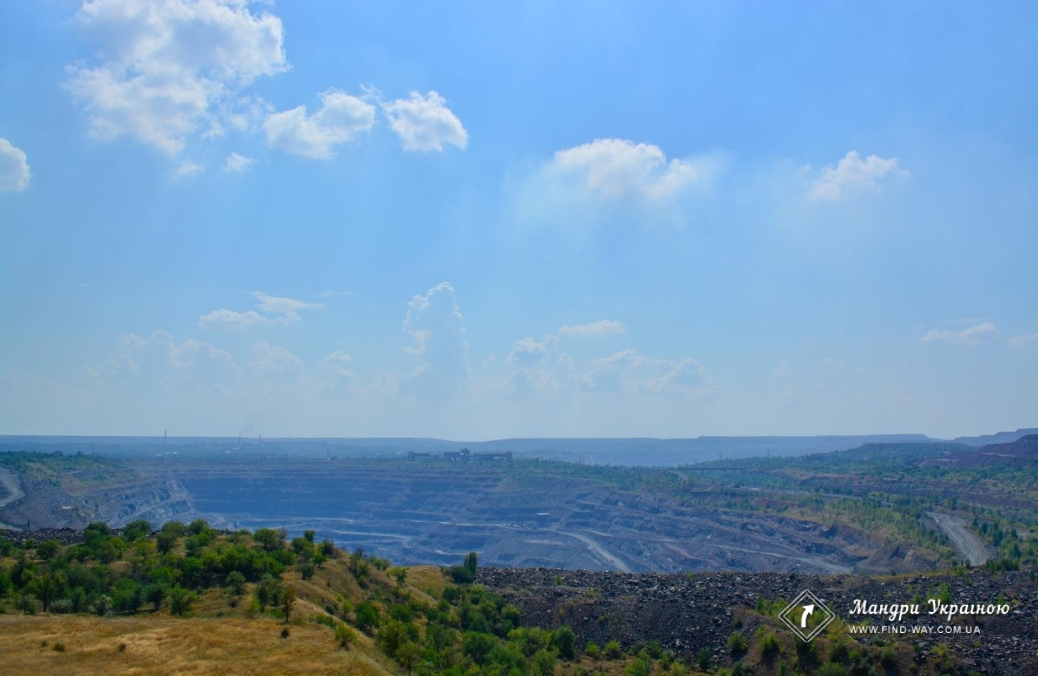 Waste iron quarry number 1, Krivoy Rog