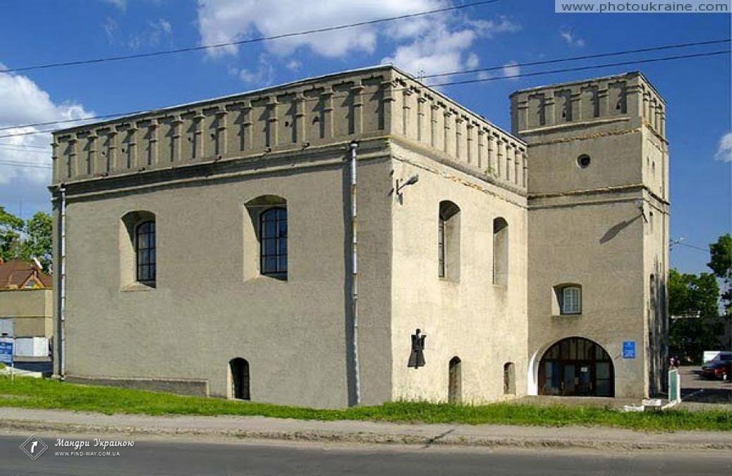 The Big Synagogue of Lutsk
