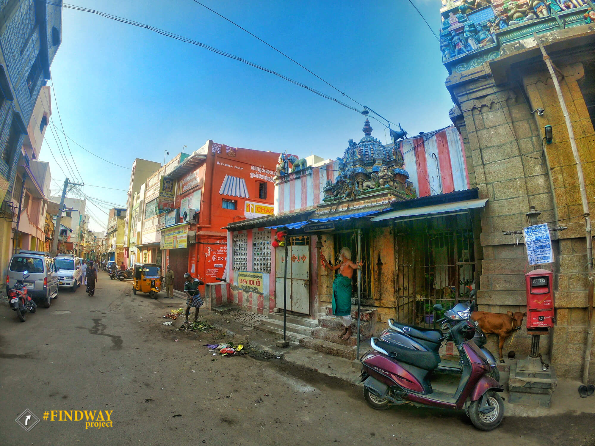 find way photos blog travel around india streets of madurai