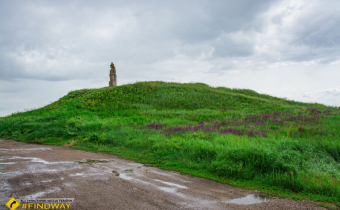 Mounds of ancient steppe peoples, Cossacke
